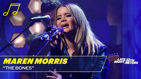 Maren  Morris Late Night with Seth Myers