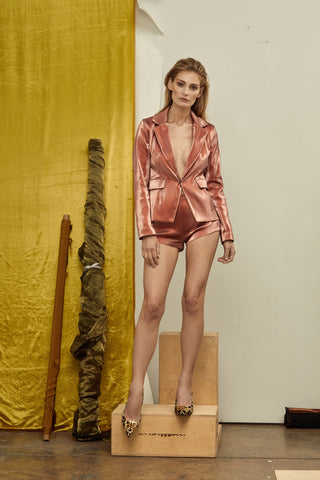 LENNA METALLIC HOT SHORTS, Shorts
