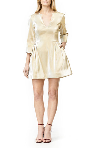 WHITE PEARL MINI CARA  DRESS, Dress