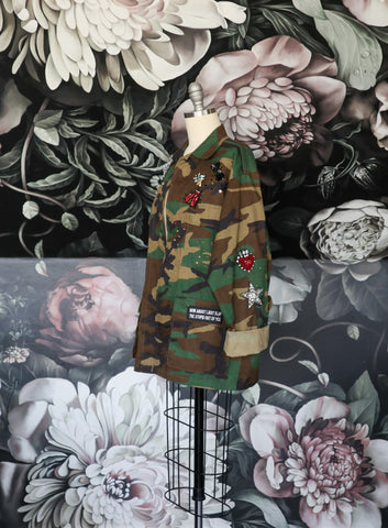 ONE OF A KIND CAMO JACKET
