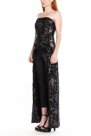 KARLIE SEQUIN LONG TOP, Dress