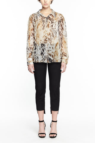 Andrea Printed Blouse, Blouses