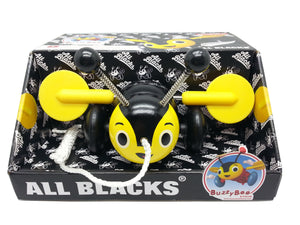 All Blacks (Limited Edition) Genuine Buzzy Bee Pull Along Toy