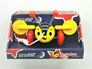 Emirates Team New Zealand (Limited Edition) Genuine Buzzy Bee Pull Along Toy