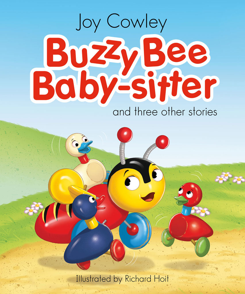 Buzzy Bee's Baby Sitter- Large Book (4 × Stories)