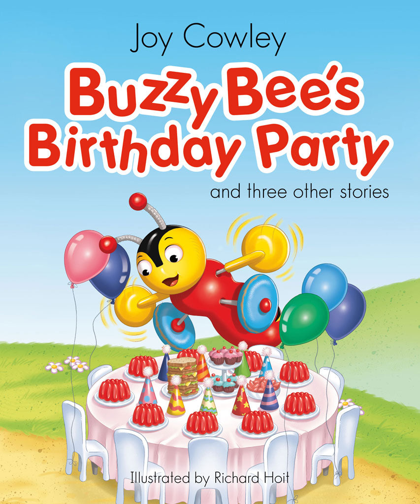 Buzzy Bee's Birthday Party - Large Book (4 x Stories) - THE GOOD HONEY CO.