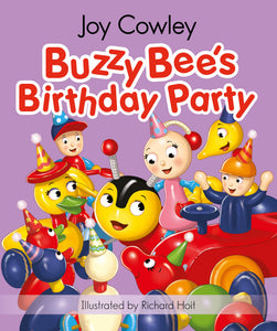 Buzzy Bee's Birthday Party Board Book - THE GOOD HONEY CO.