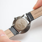 Philosopher - BUNDLE White Dial Gun Metal | Brown / Black / Navy Straps