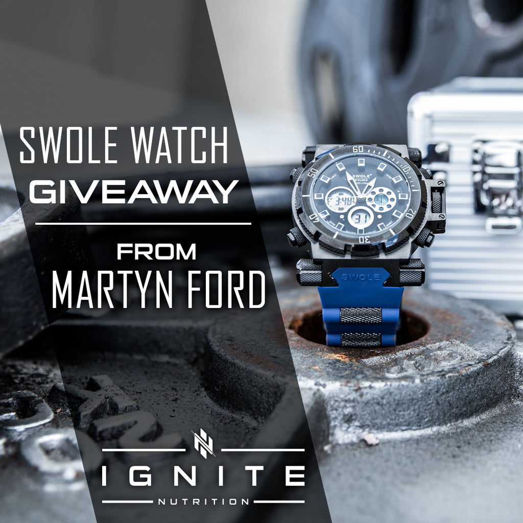 Swole Watch Giveaway
