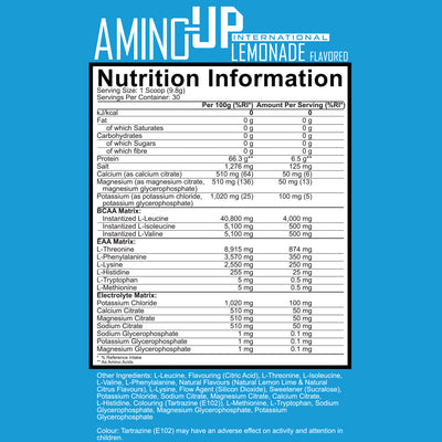 Amino-Up Advanced Amino Formula - Int