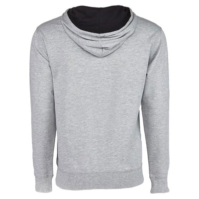 Heather Grey Hoodie with Logo - Ignite Nutrition