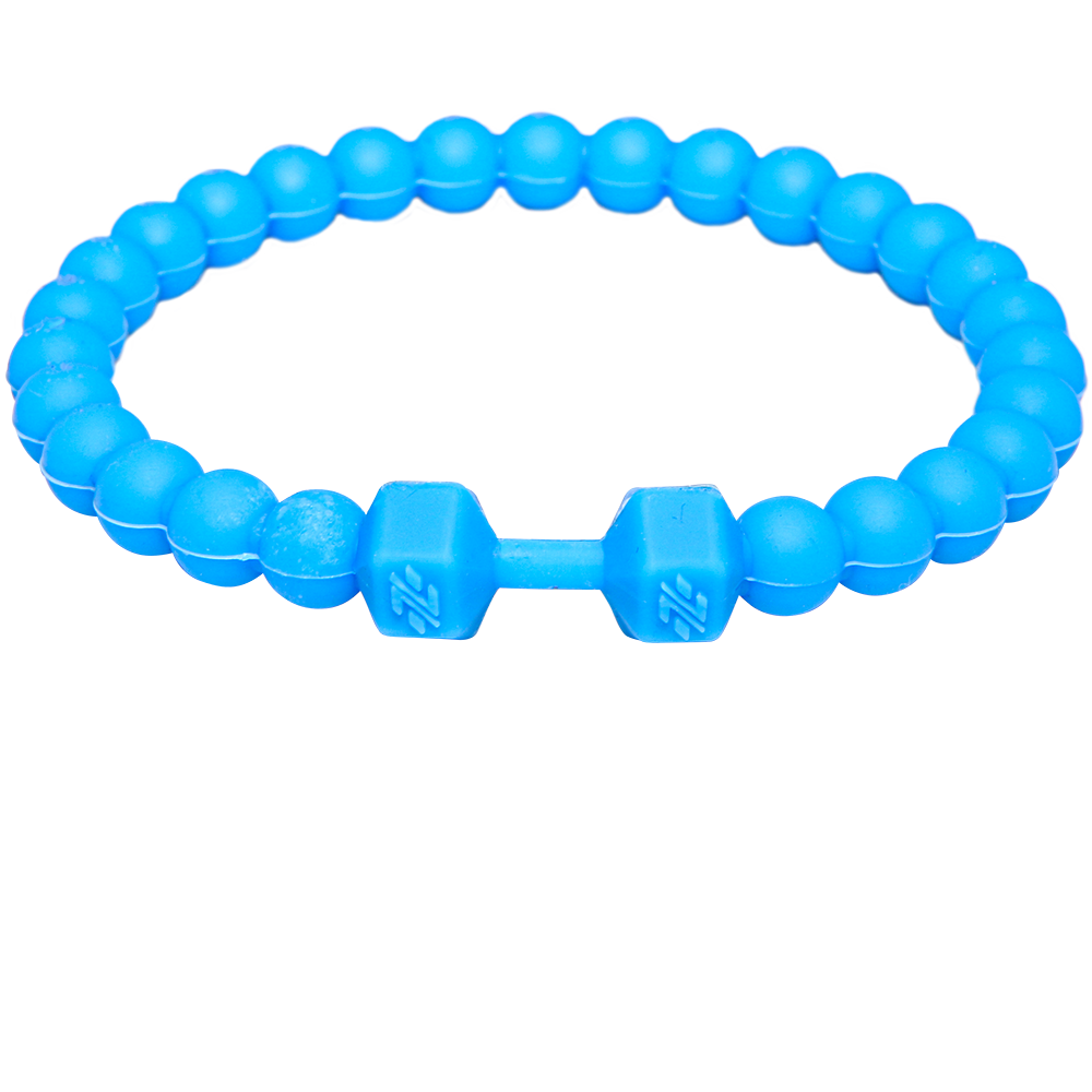 Ignite Blue Barbell Wristband - Ignite Nutrition