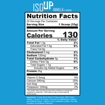 ISO-Up Protein Powder Drink Mix - Ignite Nutrition