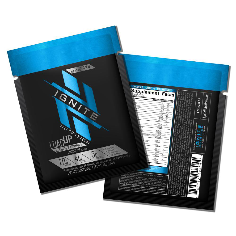 Load-Up Recovery Mix (Sample) - Ignite Nutrition