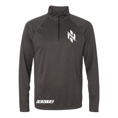 Charcoal Logo Pullover (intl) - Ignite Nutrition