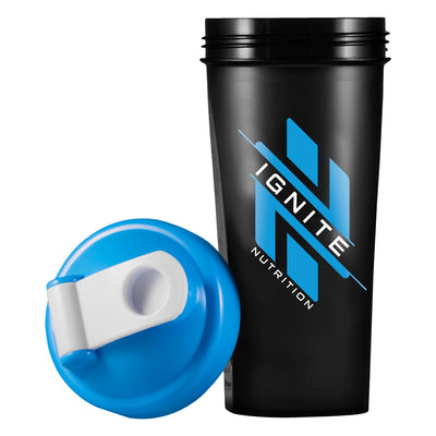 16oz Shaker Cup with Built-In Mixer