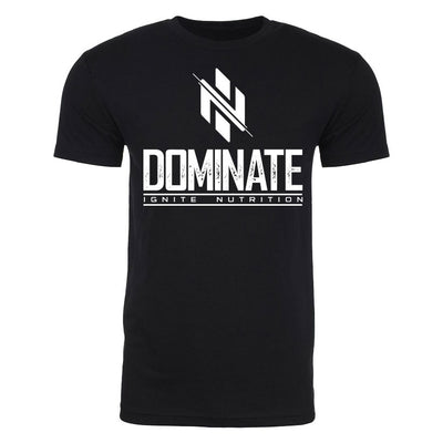Black Dominate T-Shirt - Ignite Nutrition