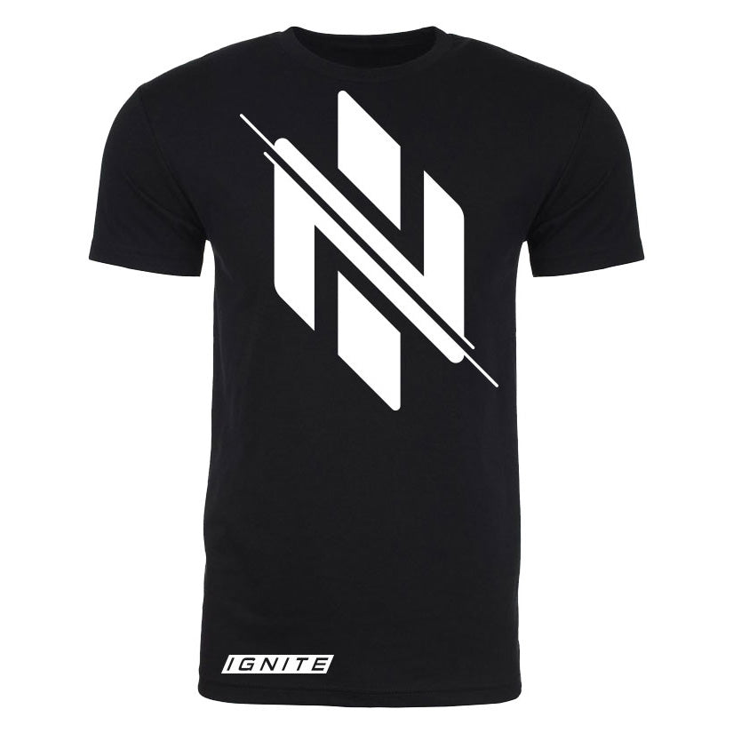 Black Logo T-Shirt (intl) - Ignite Nutrition