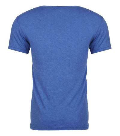 Royal Blue T-Shirt with Educate Motivate Dominate