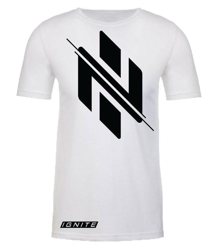 White Logo T-Shirt (intl) - Ignite Nutrition