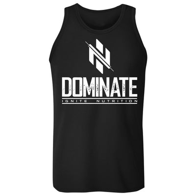 Black Dominate Tank - Ignite Nutrition