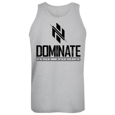 Gray Dominate Tank - Ignite Nutrition
