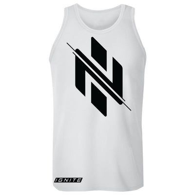 White Logo Tank (intl) - Ignite Nutrition