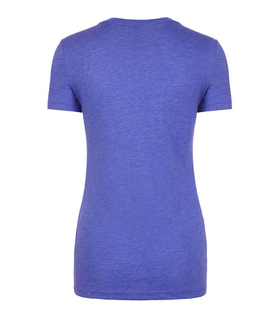 Womens Blue Logo T-Shirt