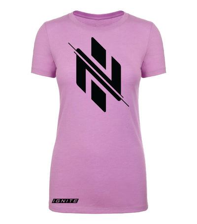Womens Pink Logo T-Shirt (intl) - Ignite Nutrition