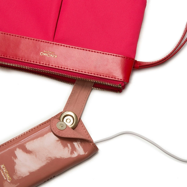 KNOMO DERING PINK SMARTPHONE CHARGE POUCH