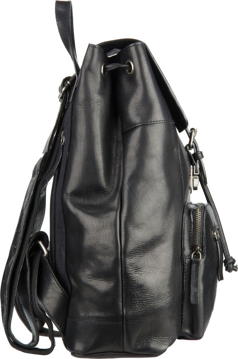 LEONHARD HEYDEN ROMA 5373 BROWN LEATHER BACKPACK