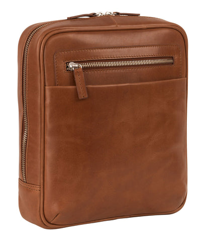 LEONHARD HEYDEN CHICAGO 6806 COGNAC SMALL MESSENGER BAG