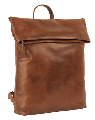 STOCKHOLM CITY BACKPACK IN BROWN