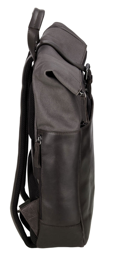 JOST VARBERG 7181 BROWN COURIER LARGE BACKPACK