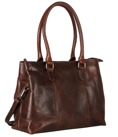 LEONHARD HEYDEN LUCCA CITYHOPPER LADIES LARGE SHOULDER BAG