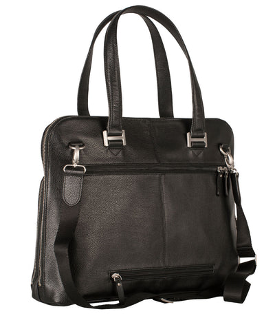 LEONHARD HEYDEN MONTPELLIER LADIES BUSINESS BAG IN BLACK