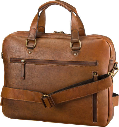JOST RANDERS 2481 SHORT HANDLE BUSINESS BAG / BRIEFCASE / LAPTOP BAG