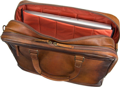 JOST RANDERS 2482 SHORT HANDLE LARGE BUSINESS BAG / BRIEFCASE / LAPTOP BAG