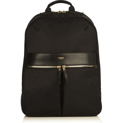 "KNOMO BEAUCHAMP BLACK 14"" LAPTOP BACKPACK"