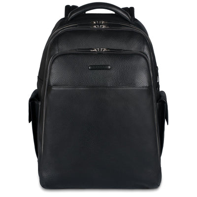 PIQUADRO MODUS CA3444MO LARGE LAPTOP BACKPACK IN BLACK