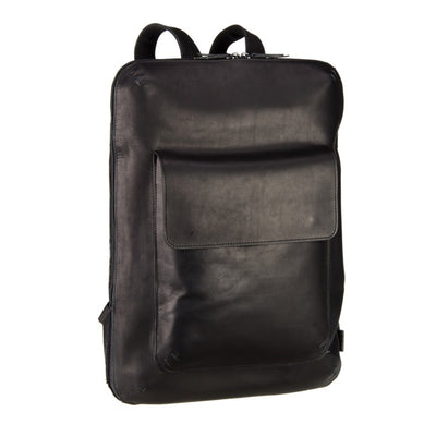 JOST FUTURA 8623 BLACK LEATHER BACKPACK