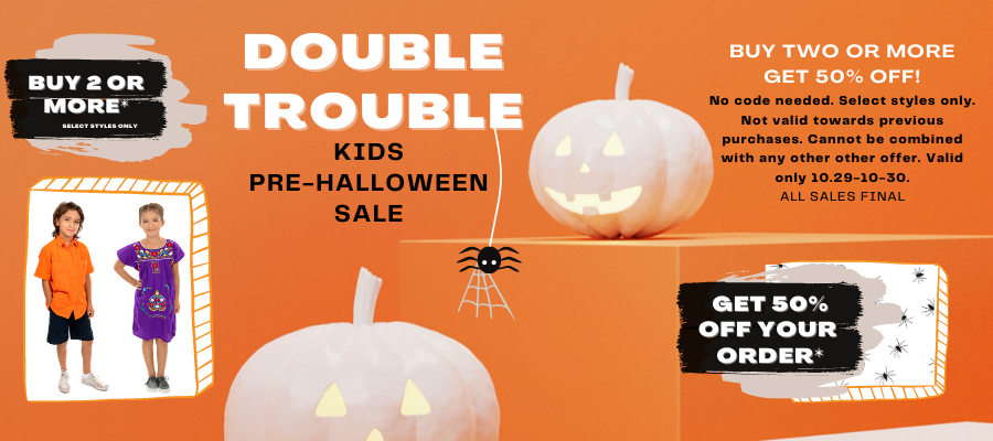 Double Trouble BUY 2 Or More GET 50% Off!