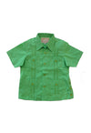 Boys Guayabera - Lime