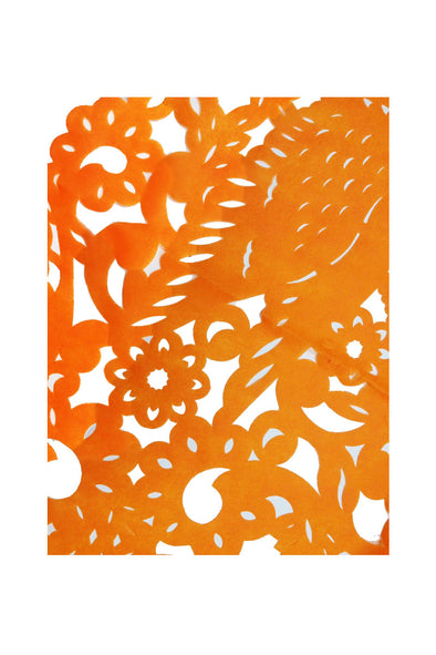 Papel Picado Reusable Cloth Large Rectangular Tablecloth - Multiple Colors Available