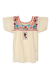 Xochitl Blouse - Cotton Multi Color Sleeved -Multiple Colors and Sizes