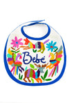 Otomi Embroidered Baby Bib - 6 Colors Available