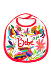 Baby Bib - Otomi Embroidered  - 6 Colors Available