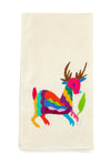 Otomi Embroidered Hand Towel - 9 Color Options