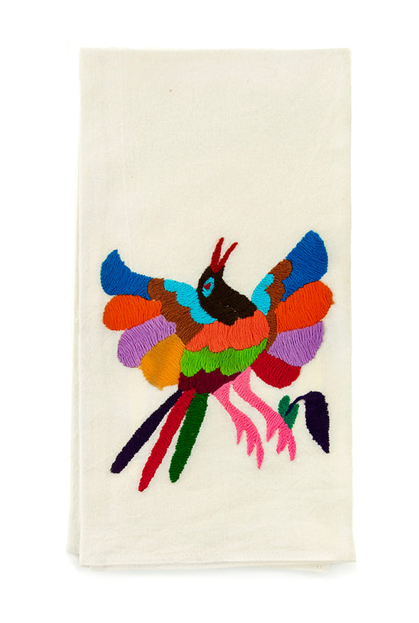 Hand Towel - Otomi Embroidered - 4 Color Options