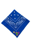 Embroidered Cactus Bandana- Multiple Colors Available